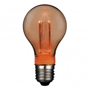 Bombilla LED decorativa estandar E27 A60 (2W)