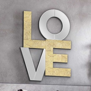 Espejo decorativo Love (80x60)