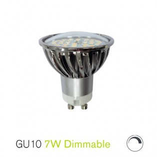 Bombilla led 7W GU10 (dimmable)